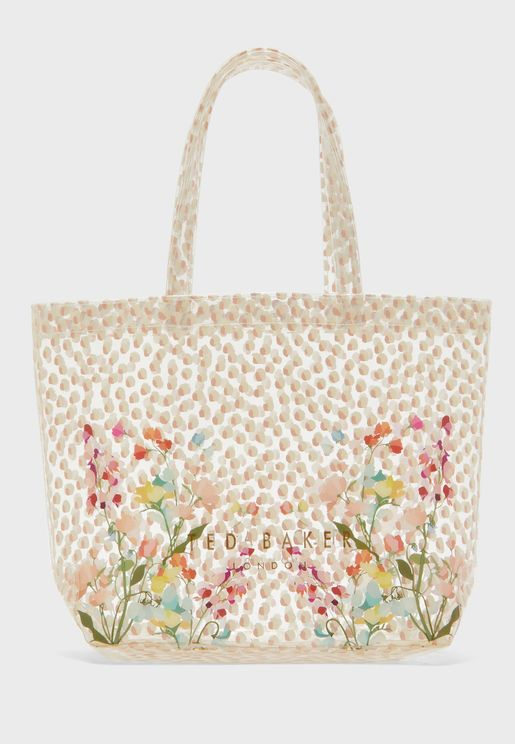 Gilicon Peppermint Clear Small Icon Tote