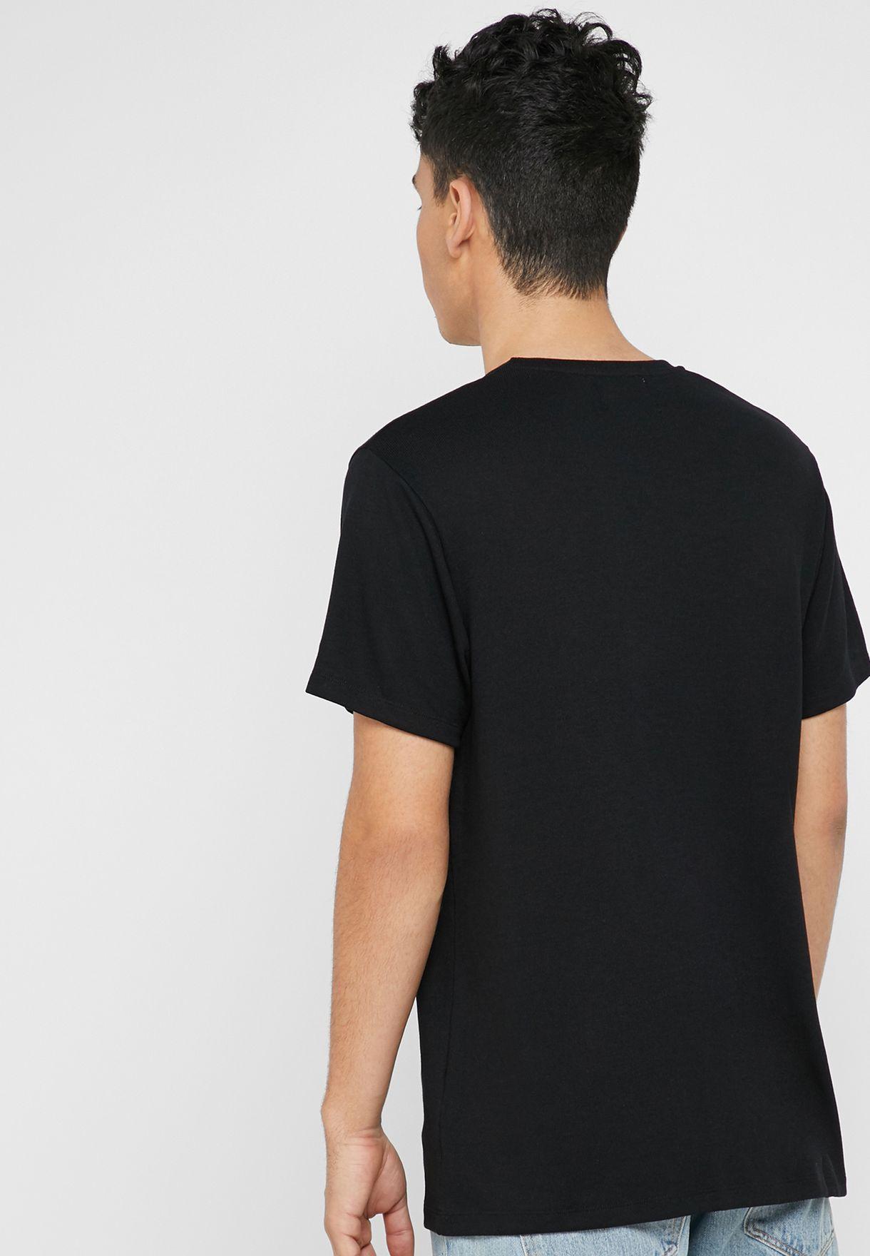 Viscose Crew Neck T-Shirt