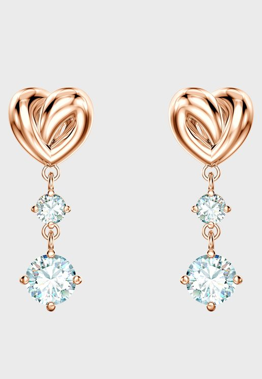 Lifelong Heart Drop Earrings
