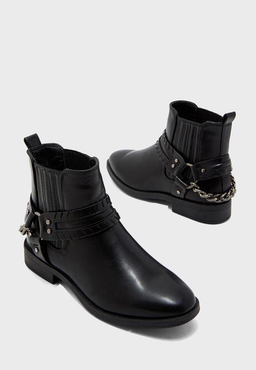Botkik Cowboy Ankle Boot