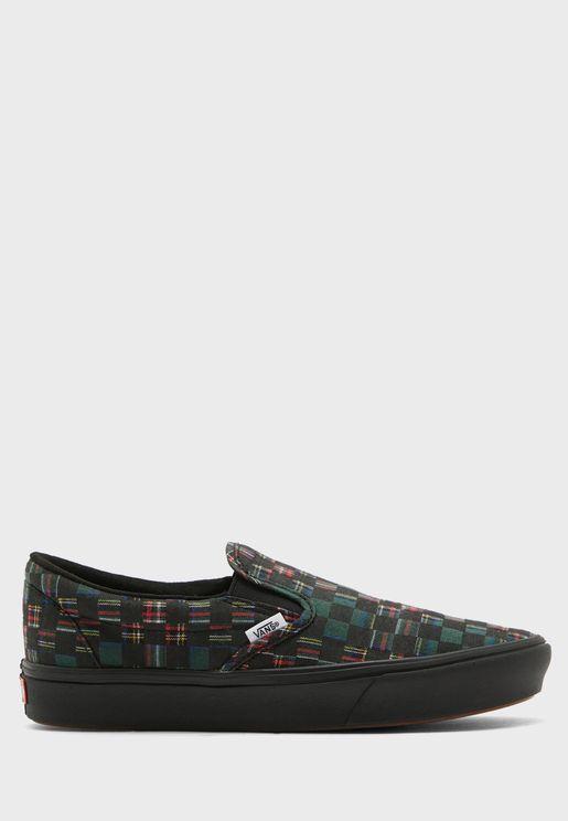 حذاء مربعات سهل الارتداء
