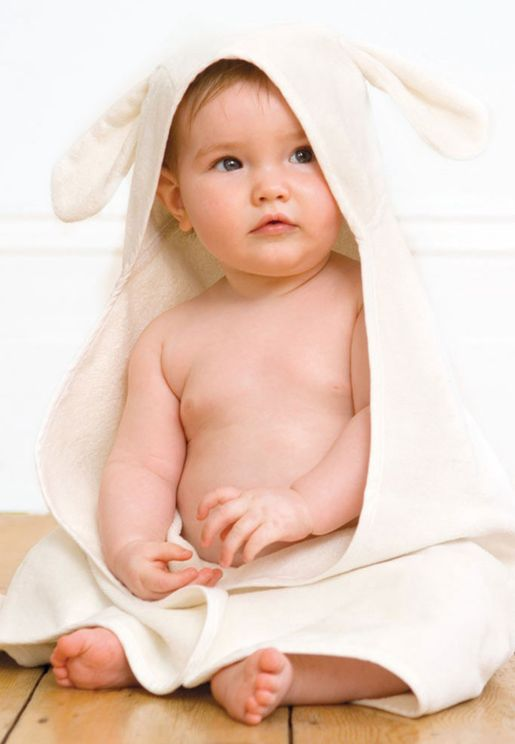 Bunny Hooded Baby Towel