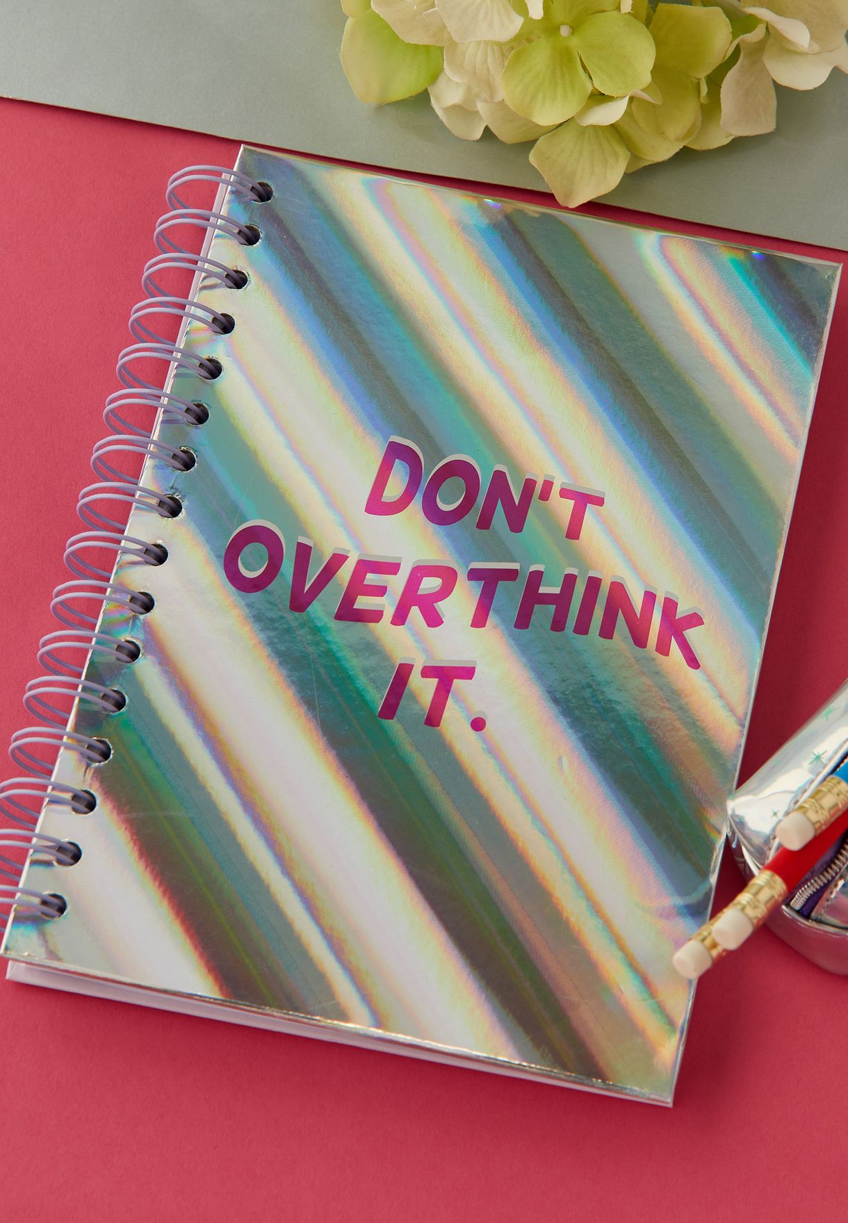 Don't Overthink It Notebook