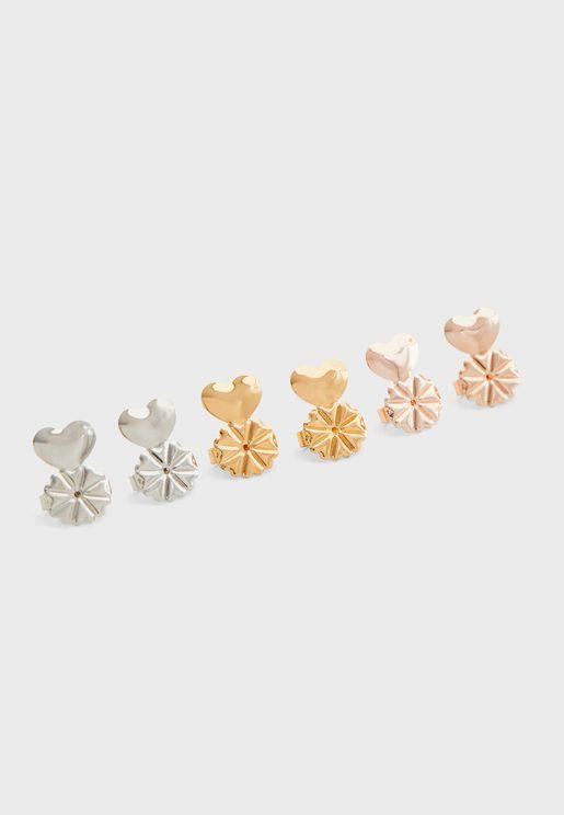 Rotative Earrings Set