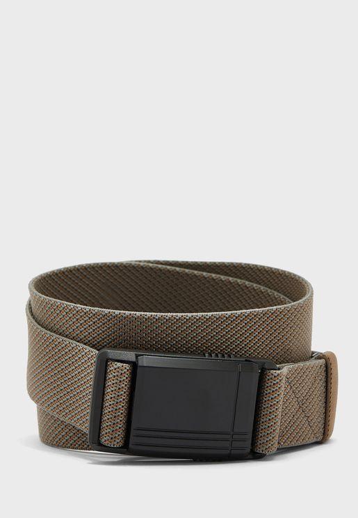 Causal Woven Belt