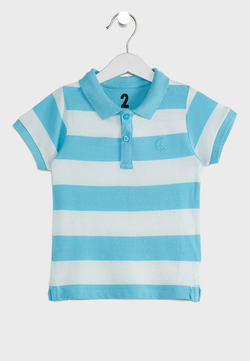 Kids Vanilla Polo T-Shirt