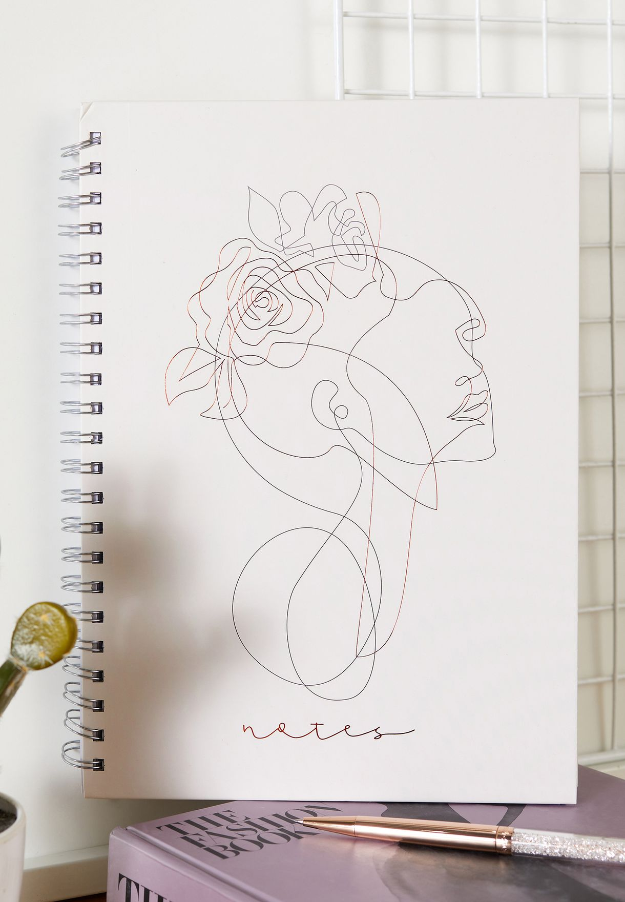 A4 Line Drawing Notebook