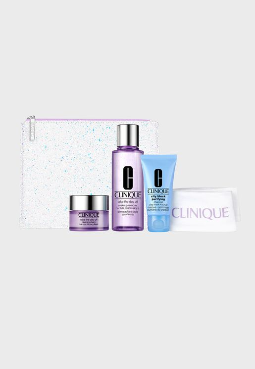 Cleansing Set by Clinique, 61% saving