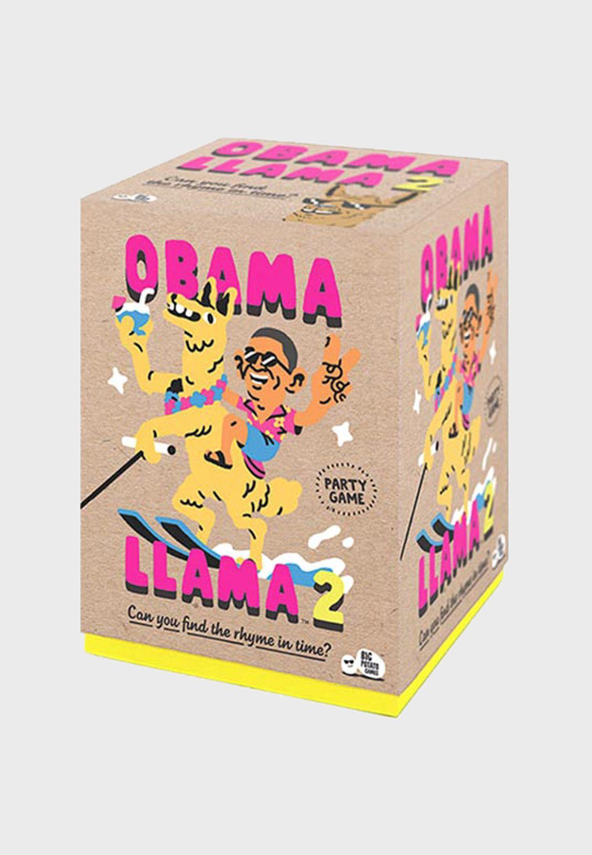 Obama Llama II Card Game