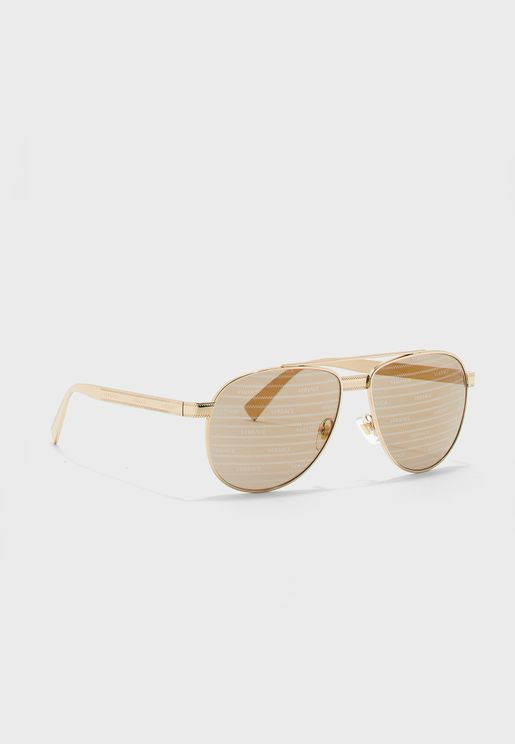 0VE2209 Top Bar Sunglasses