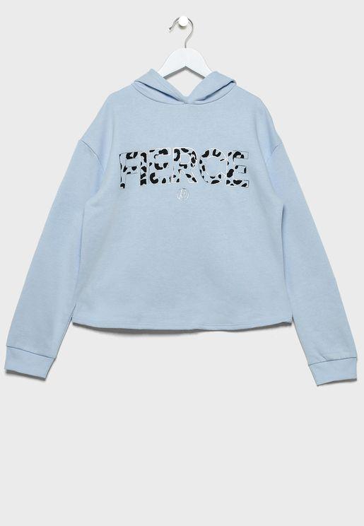 Kids Fierce Sweatshirt