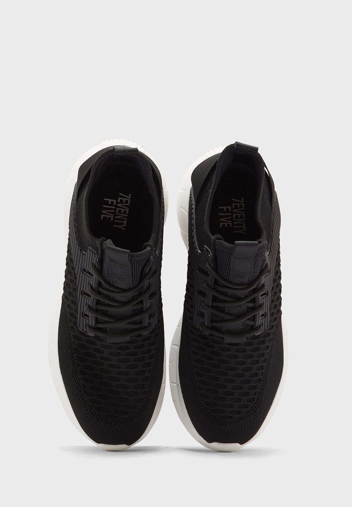 Knitted Mid Top Comfort Sneakers