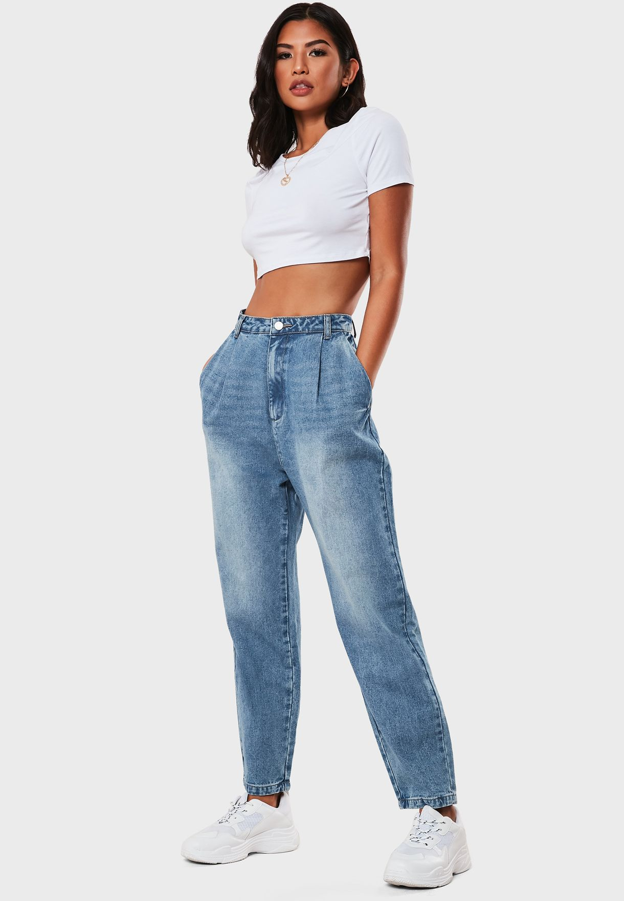 Oversize High Waisted Jeans
