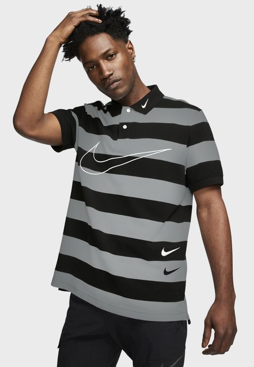 NSW Swoosh Knit Polo