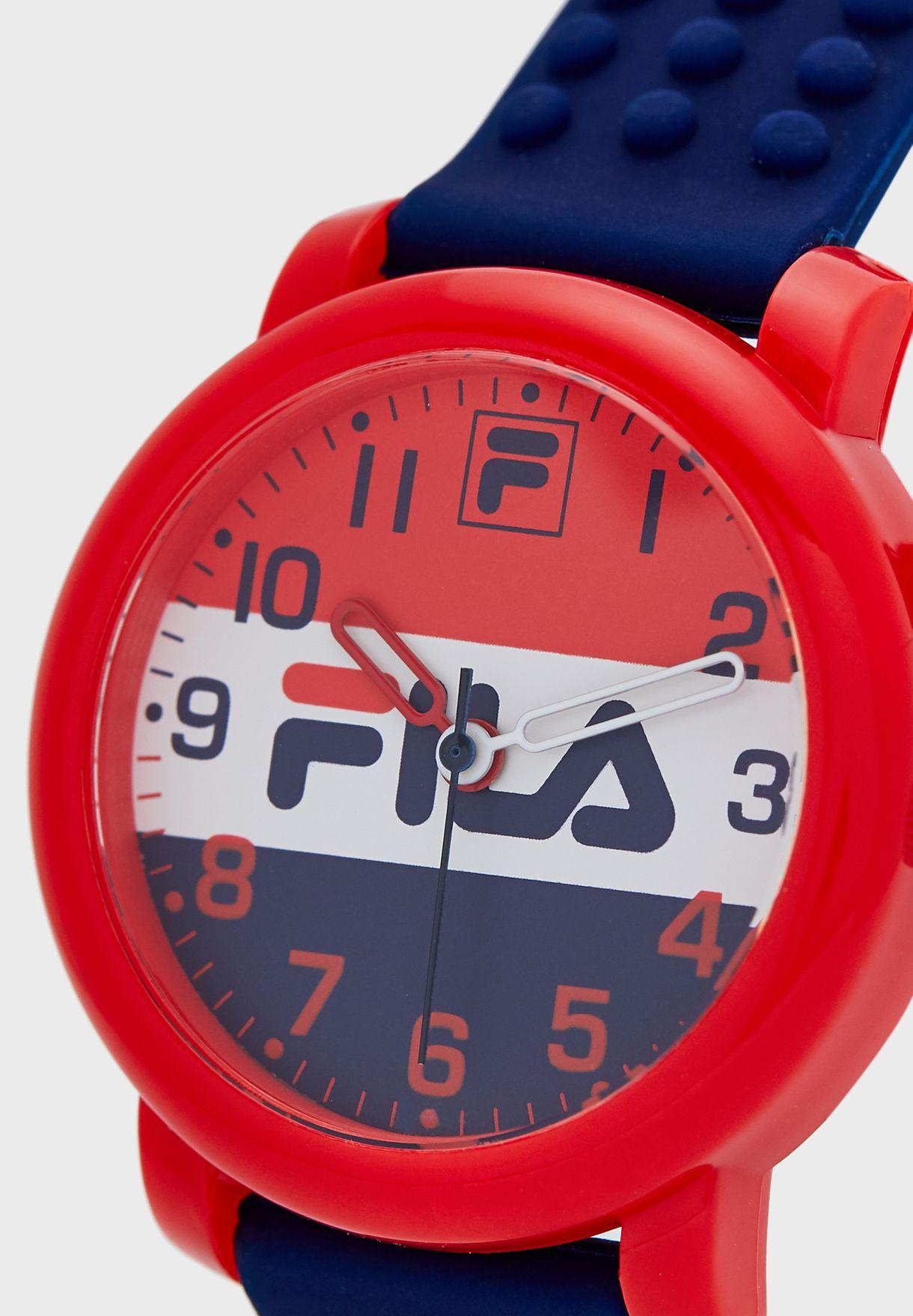 Kids Textured Strap Watch