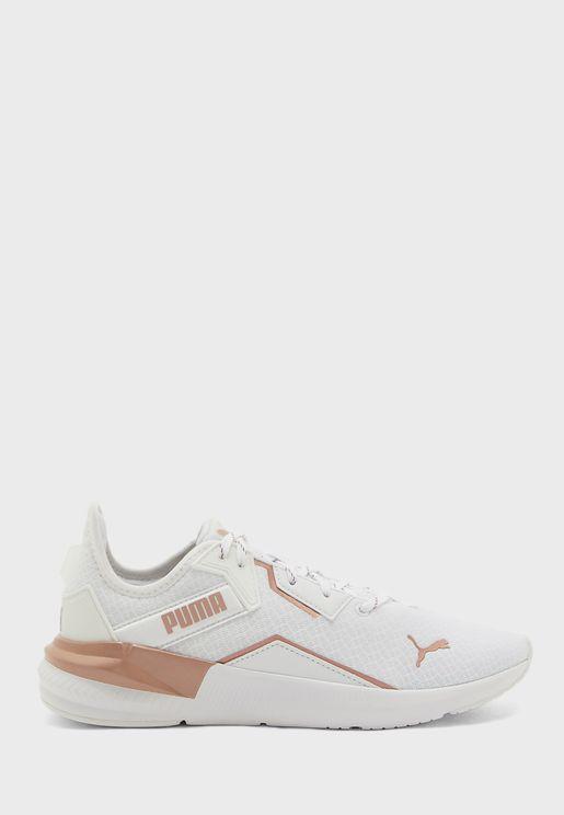 حذاء بلاتينيوم ميتاليك