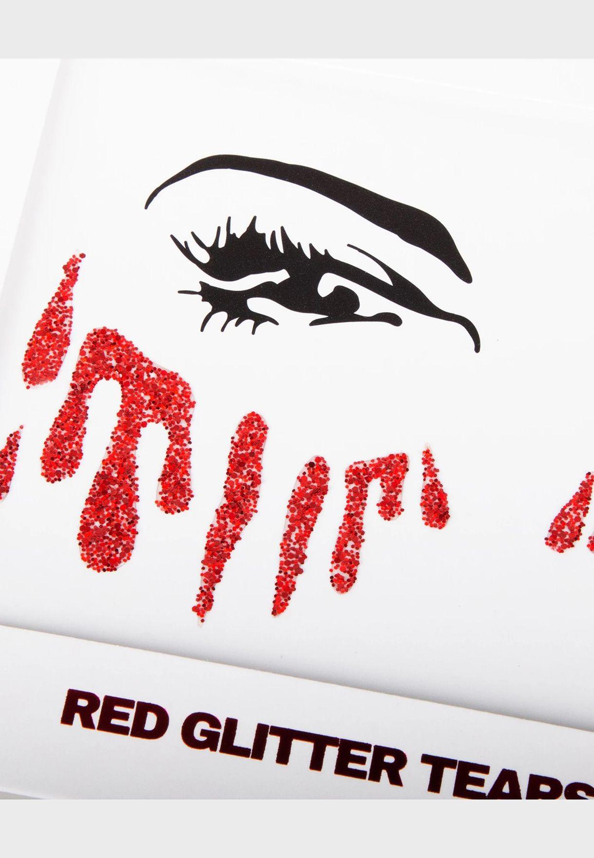 Red Blood Tears Sticker