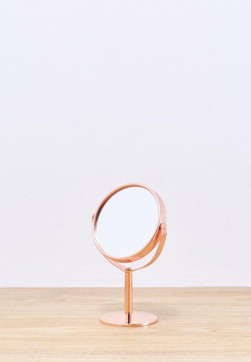 Oval Desk Size Mirror