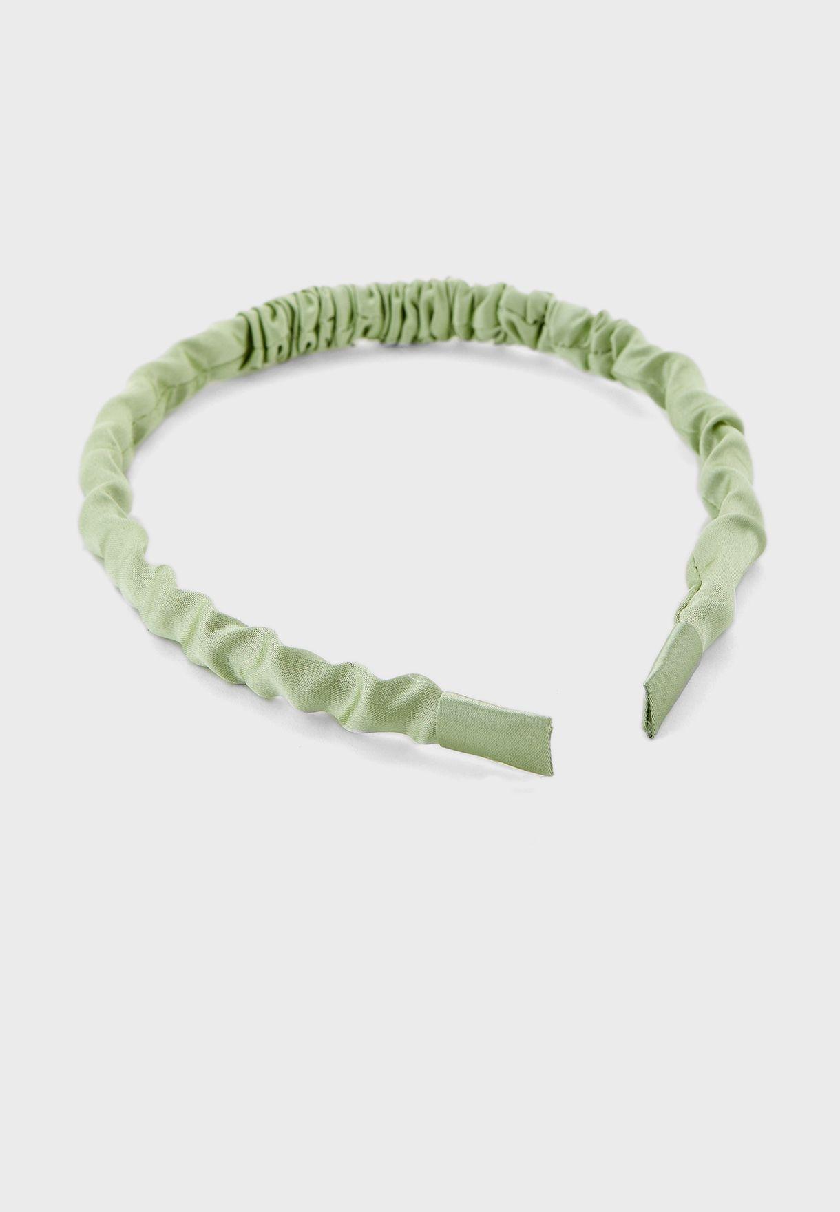 Ruched Skinny Headband