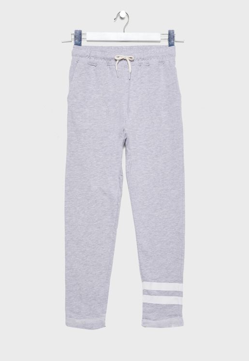 Youth Tie Waist Sweatpants