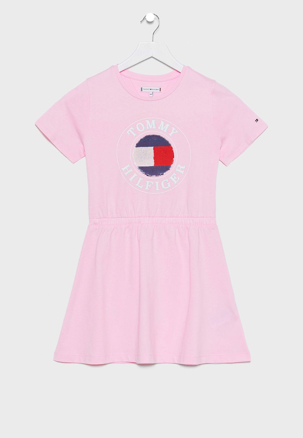 Teen Graphic Dress