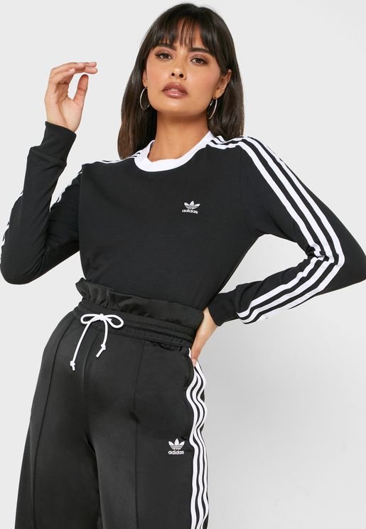 3 Stripes Casual Women's Long Sleeve T-Shirt