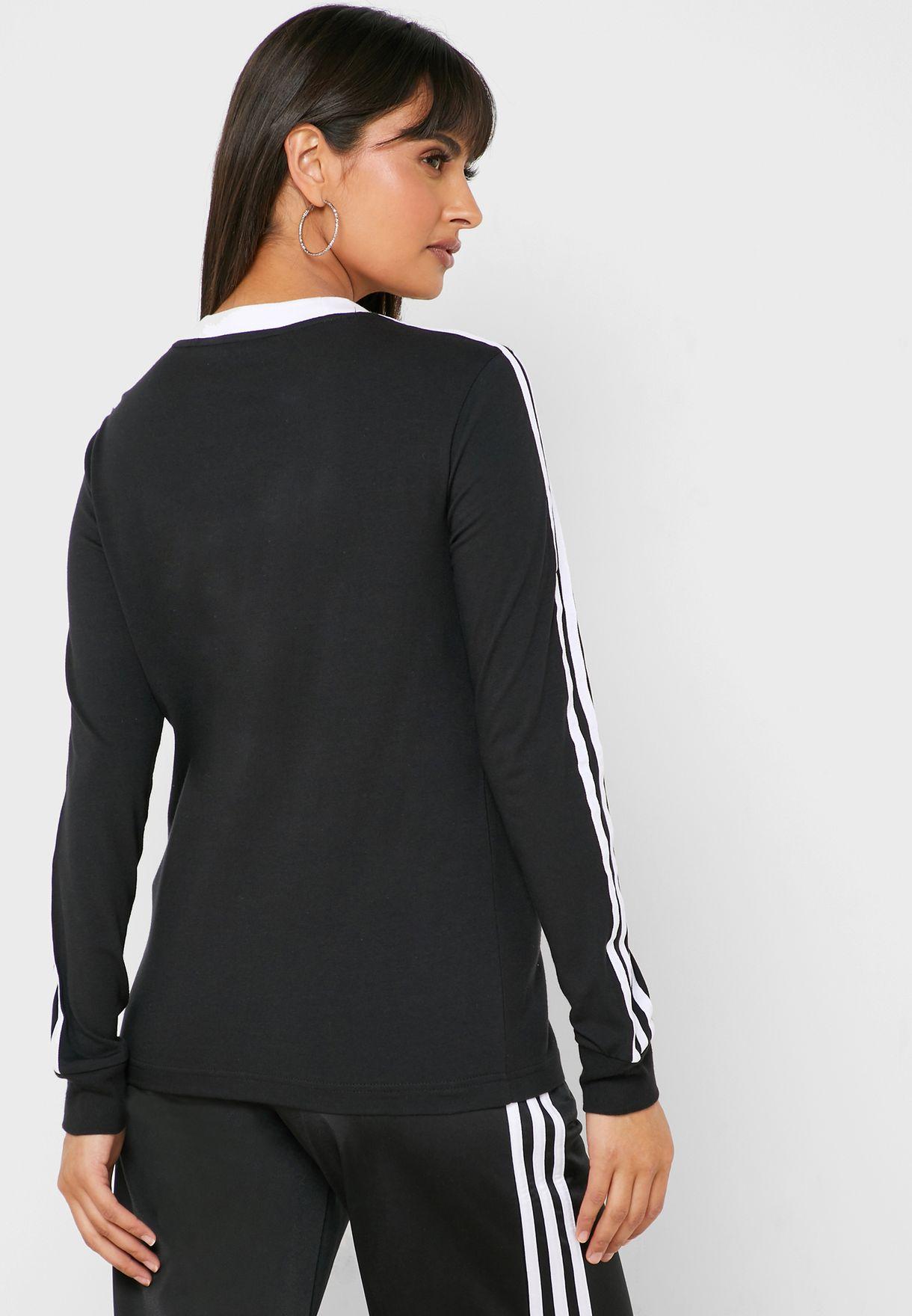 3 Stripes Casual Women's Long Sleeve T-Shirt