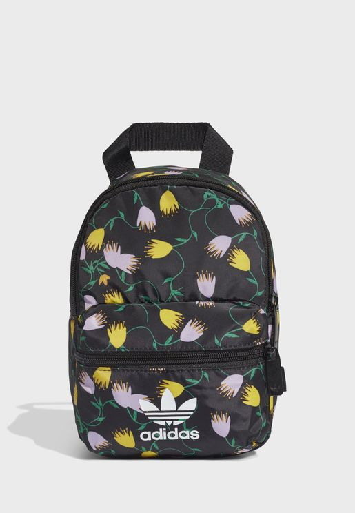 Trefoil Graphic Mini Backpack