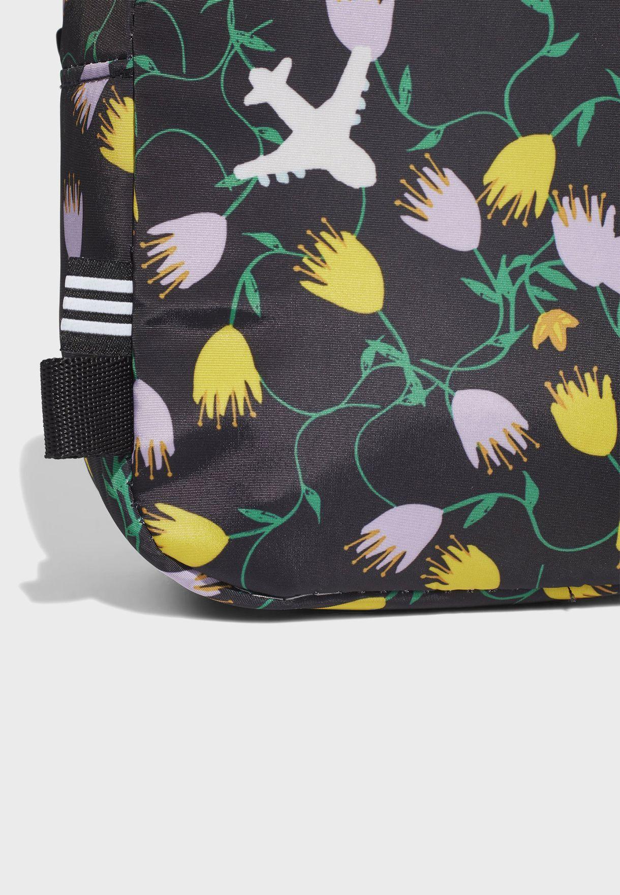 Trefoil Graphic Mini Backpack