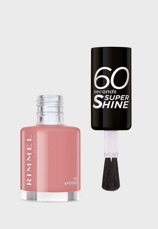 60 Seconds Super Shine Nail Polish 711 Xposed