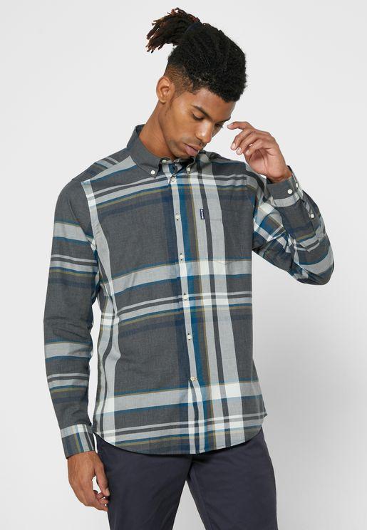 Highland Checked Regular Fit Shirt
