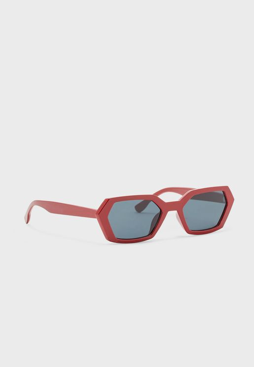 نظارة شمسة بعدسات دائرية