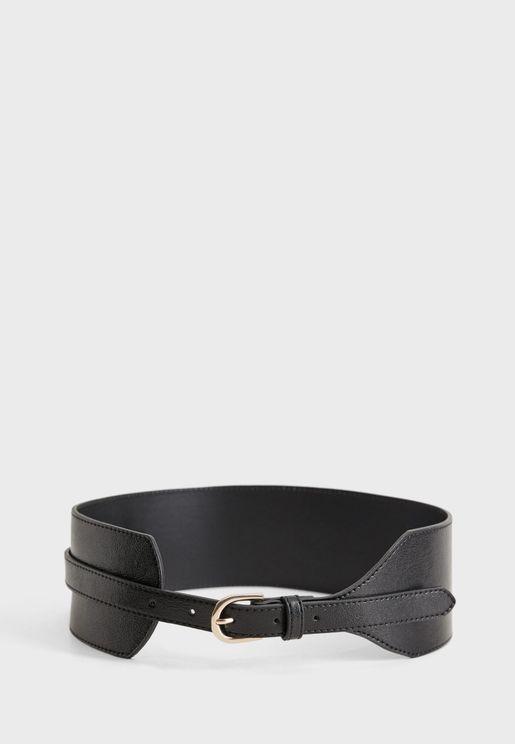 Strap Wide Belt