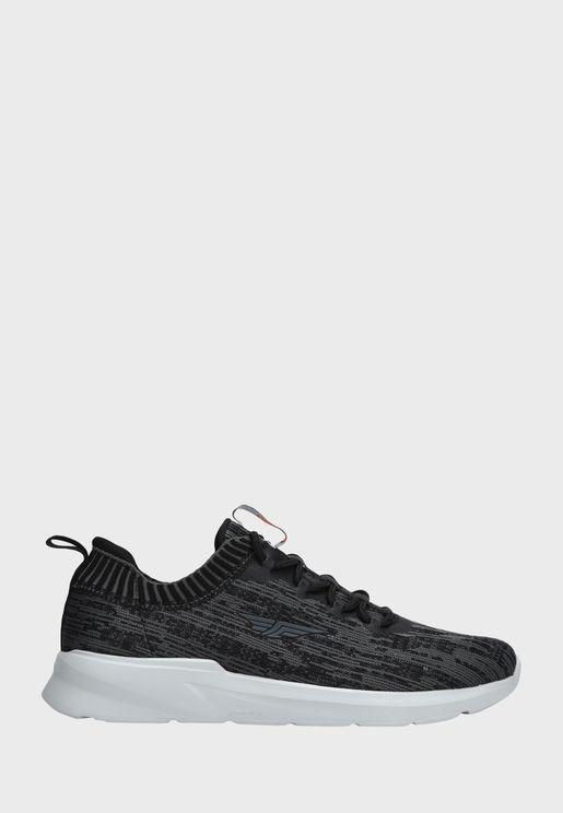 Contrast Low Top Sneaker