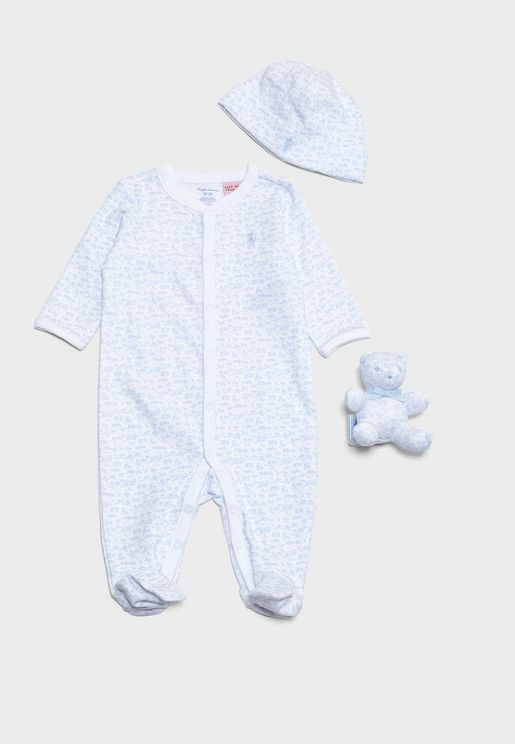 Infant Button Down Romper