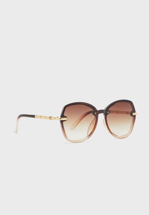 نظارة شمسية انيقة بأذرع معدنية