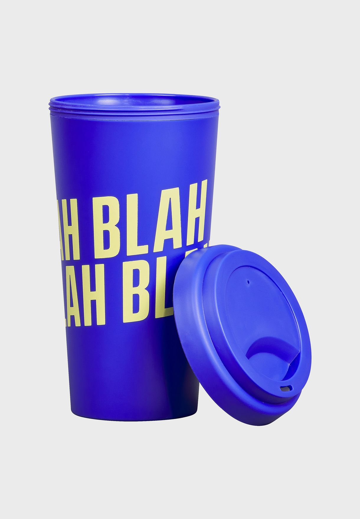 Blah Blah Blah Travel Flask