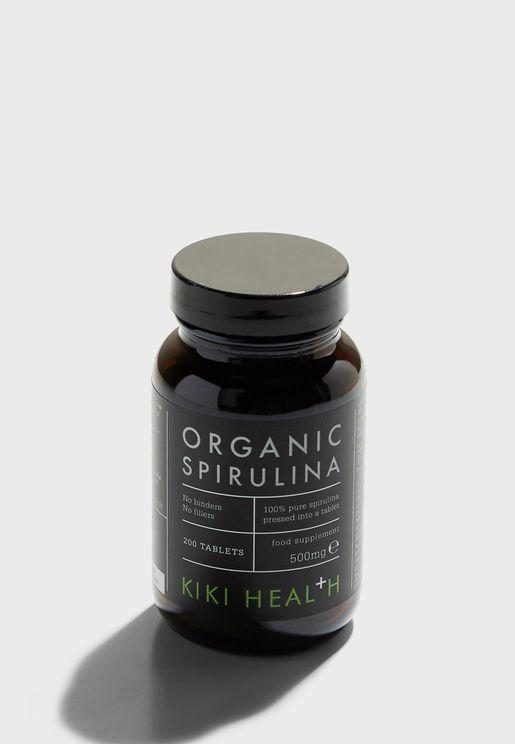 Organic Spirulina Tablets - 200tabs