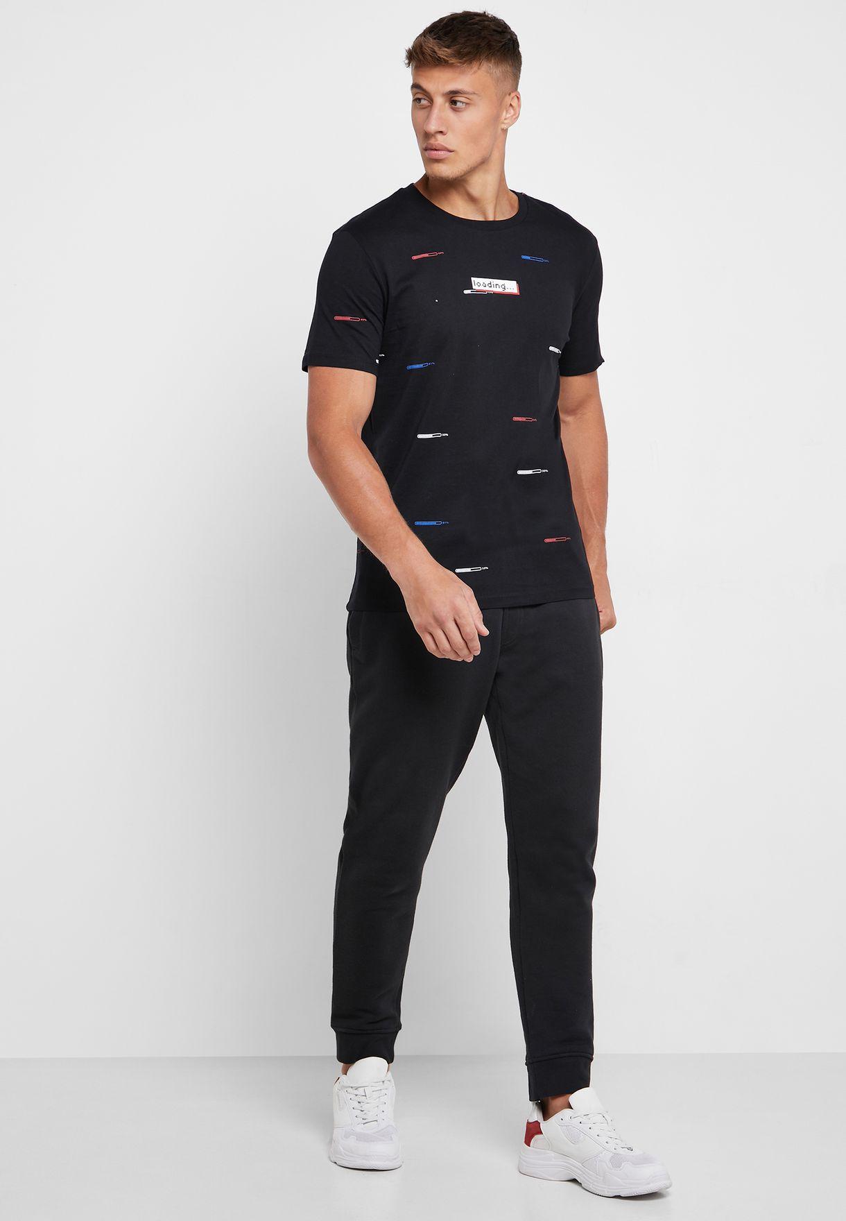 AOP Crew Neck T-Shirt