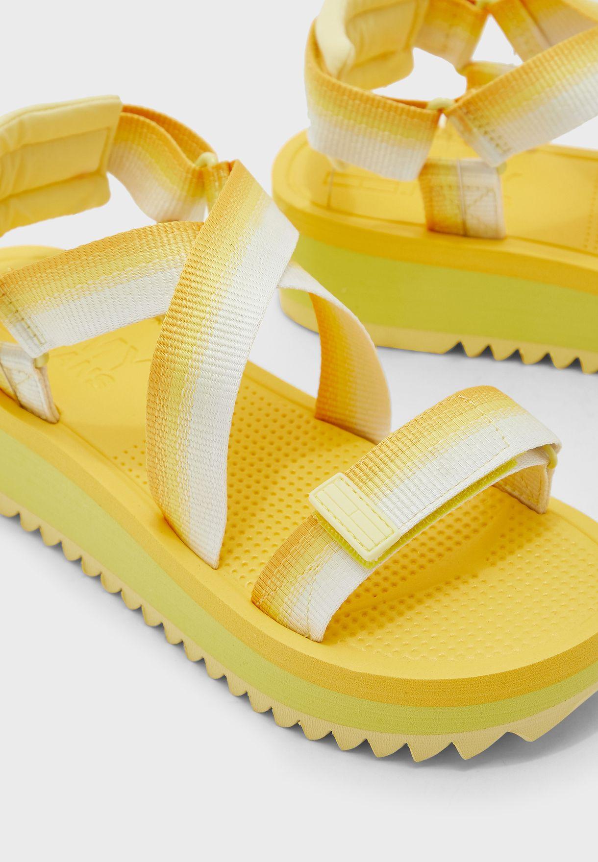 Ankle Strap Flatform Sandal