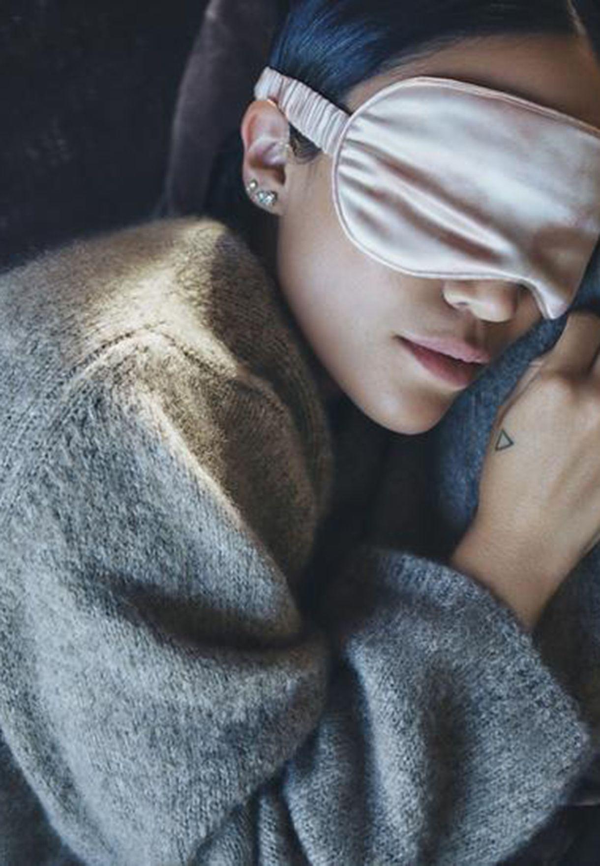 Sleep Mask - Dessert Rose