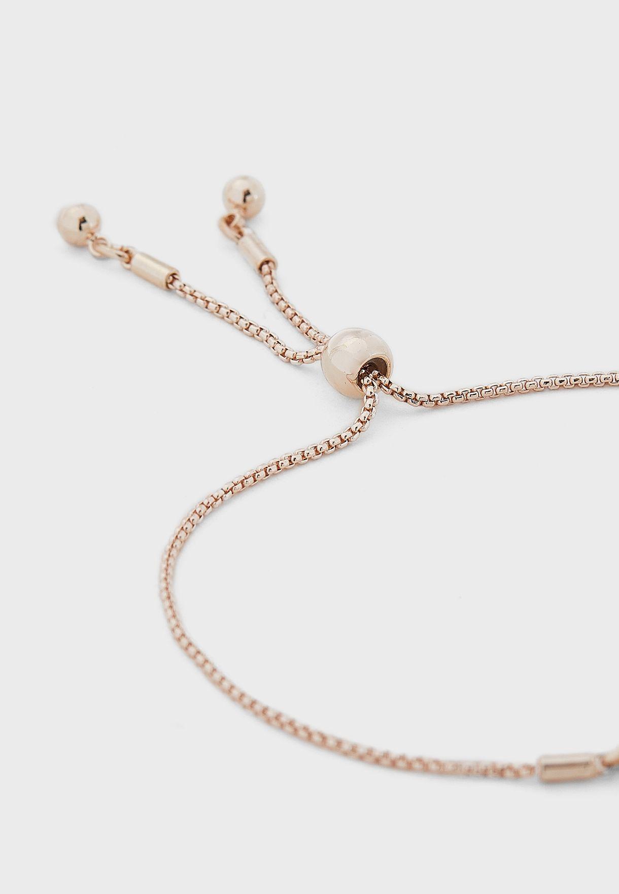 Mop Flower Bracelet