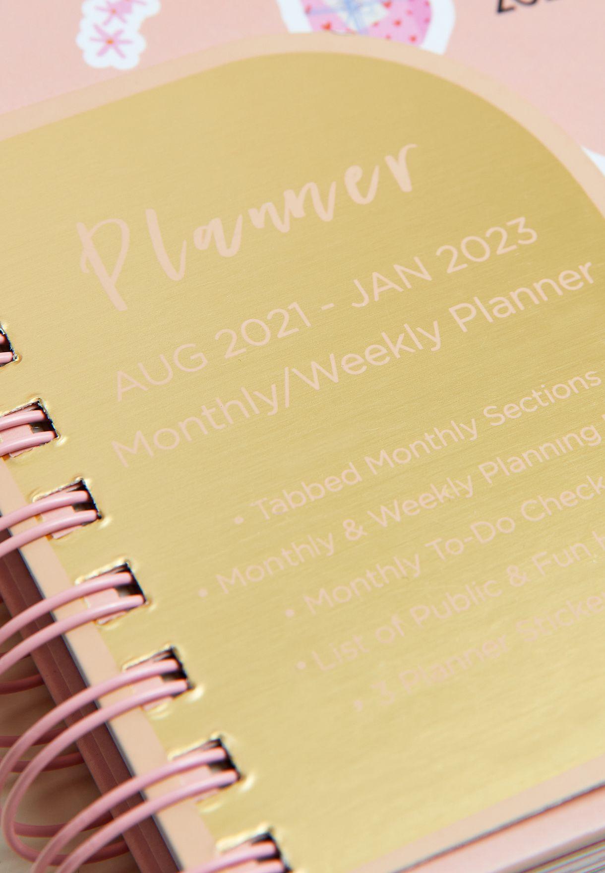 18 Month Agenda 18 Month Planner