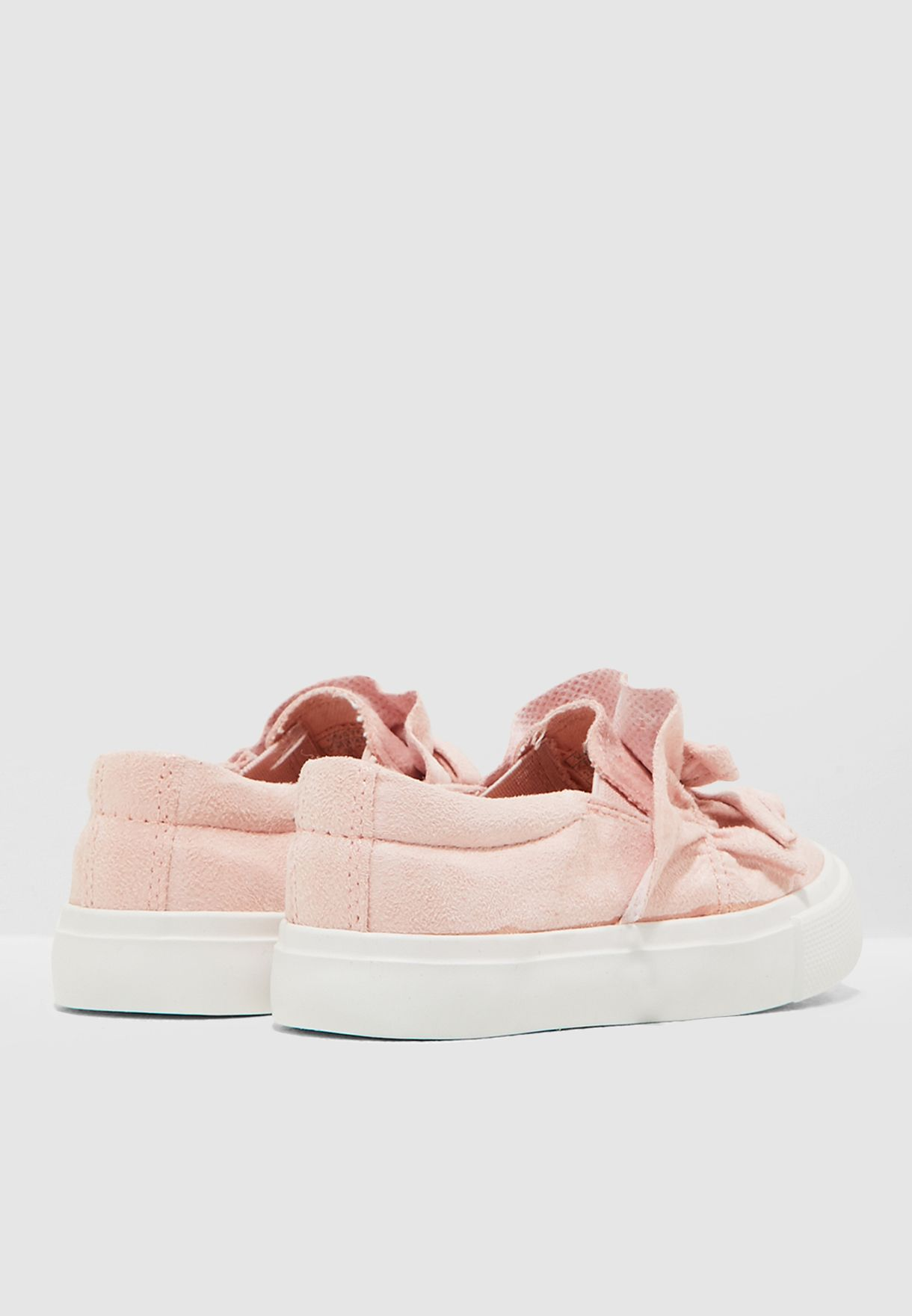 Kids Ruched Sneaker