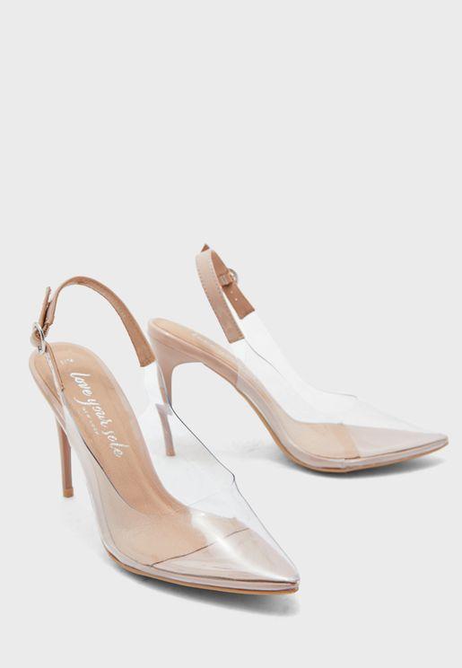 Xavia Ankle Strap High Heel Sandal