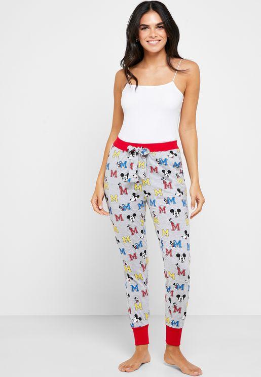 Mickey Mouse Pyjama Bottoms