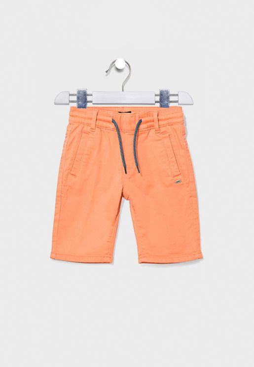Youth Terracotta Shorts