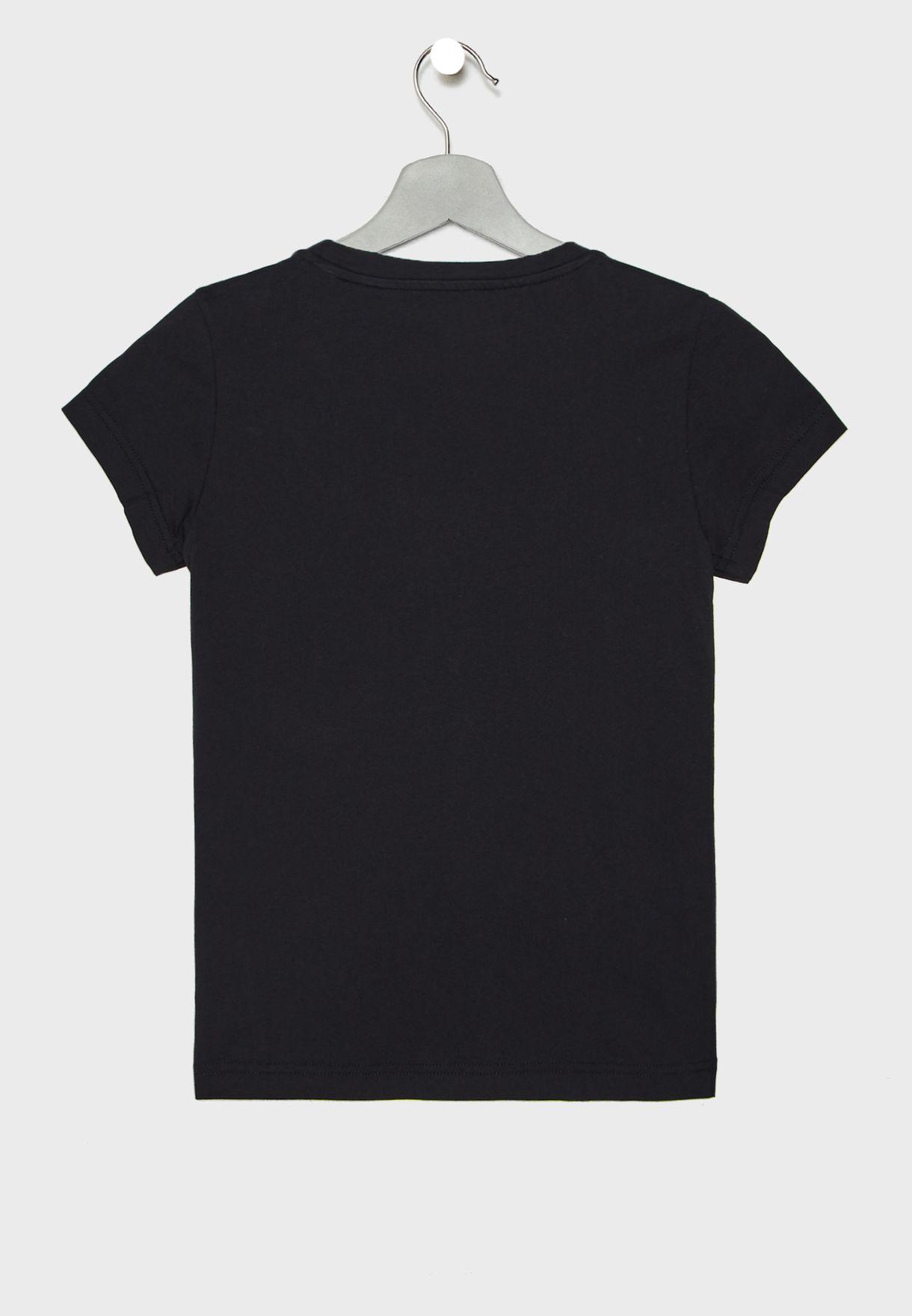 Youth Essential Plain T-Shirt