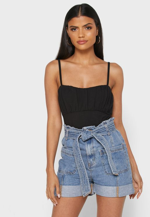 Cami Ruched Detail Body