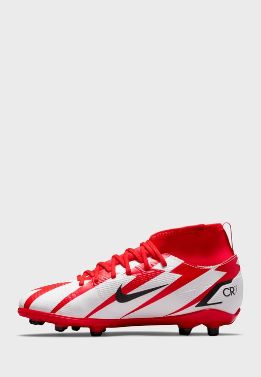 Youth Superfly 8 Club Cr7 Firm Ground